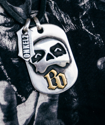 Voodoo Skull (Dog Tag)