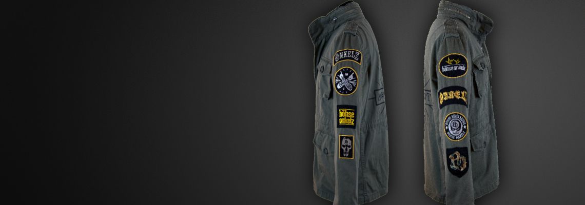 Field-Jacket BO-Badges